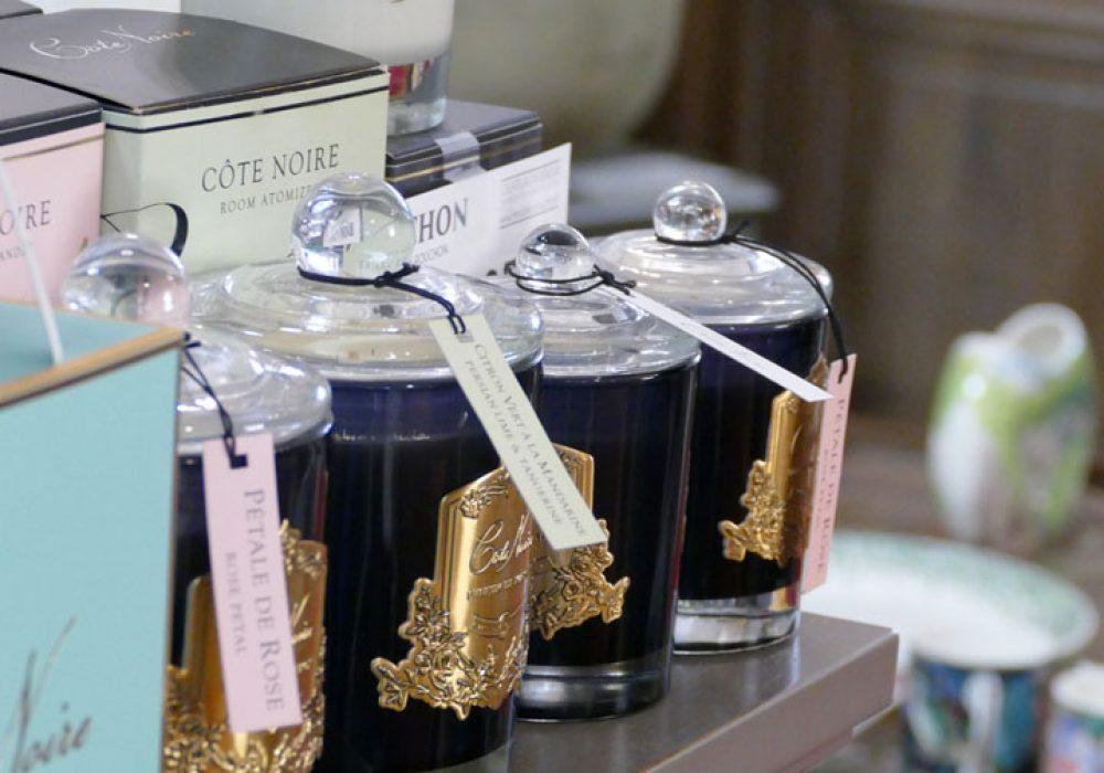 Bougies parfumées à Sarlat en Dordogne