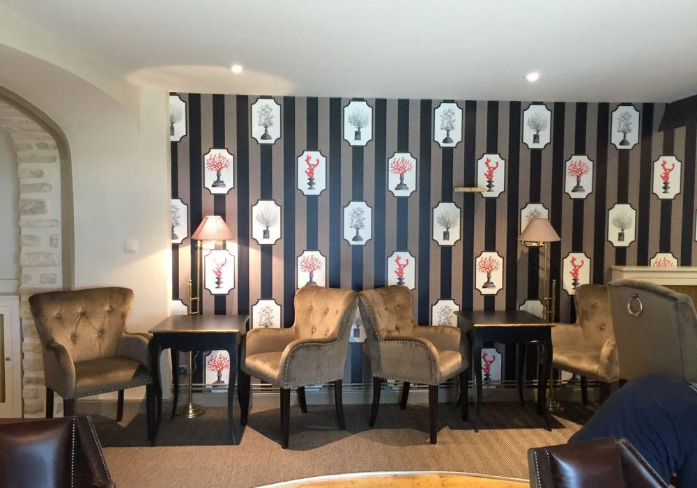 Ameublement et décoration d'hôtel à Sarlat, en Dordogne